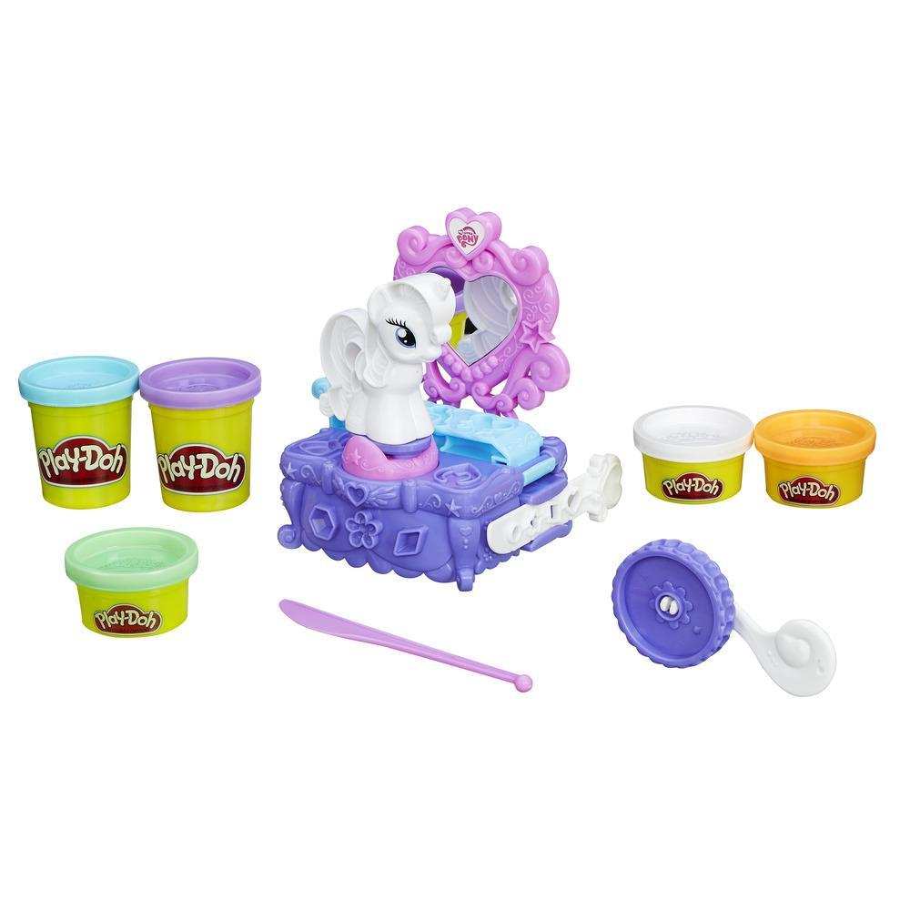 Play-Doh. Набор «Туалетный столик Рарити» - Пластилин Play-Doh, артикул: 135106