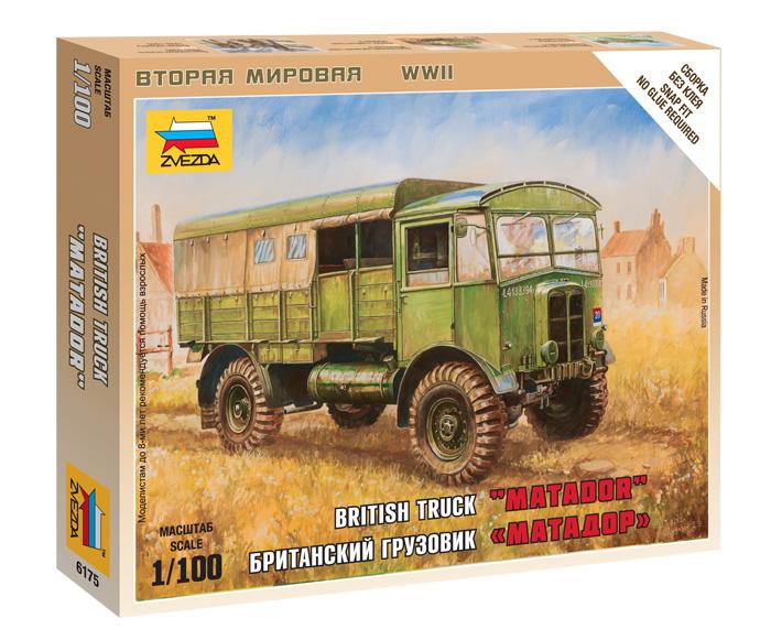 Модель сборная - Британский грузовик Матадор от Toyway