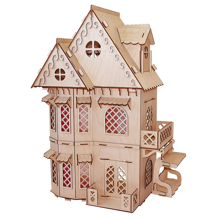 Кукольный домик конструктор серия Я дизайнер Дом принцессы фото