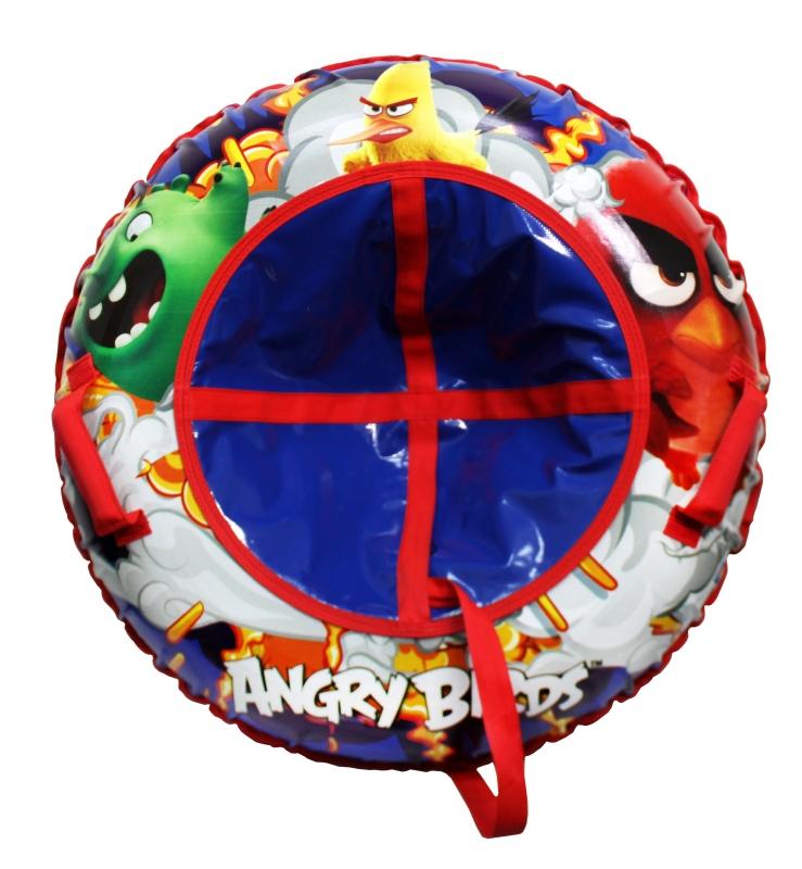 Купить Тюбинг - Angry Birds, надувные сани диаметром 100 см, 1TOY