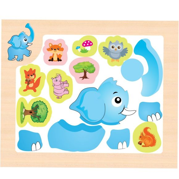 Магнитная игра - Собери картинкуРамки и паззлы<br>Магнитная игра - Собери картинку<br>