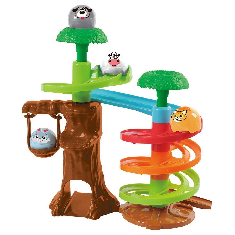 Развивающий центр - Дерево-лабиринт с шарамиРазвивающие игрушки PlayGo<br>Развивающий центр - Дерево-лабиринт с шарами<br>