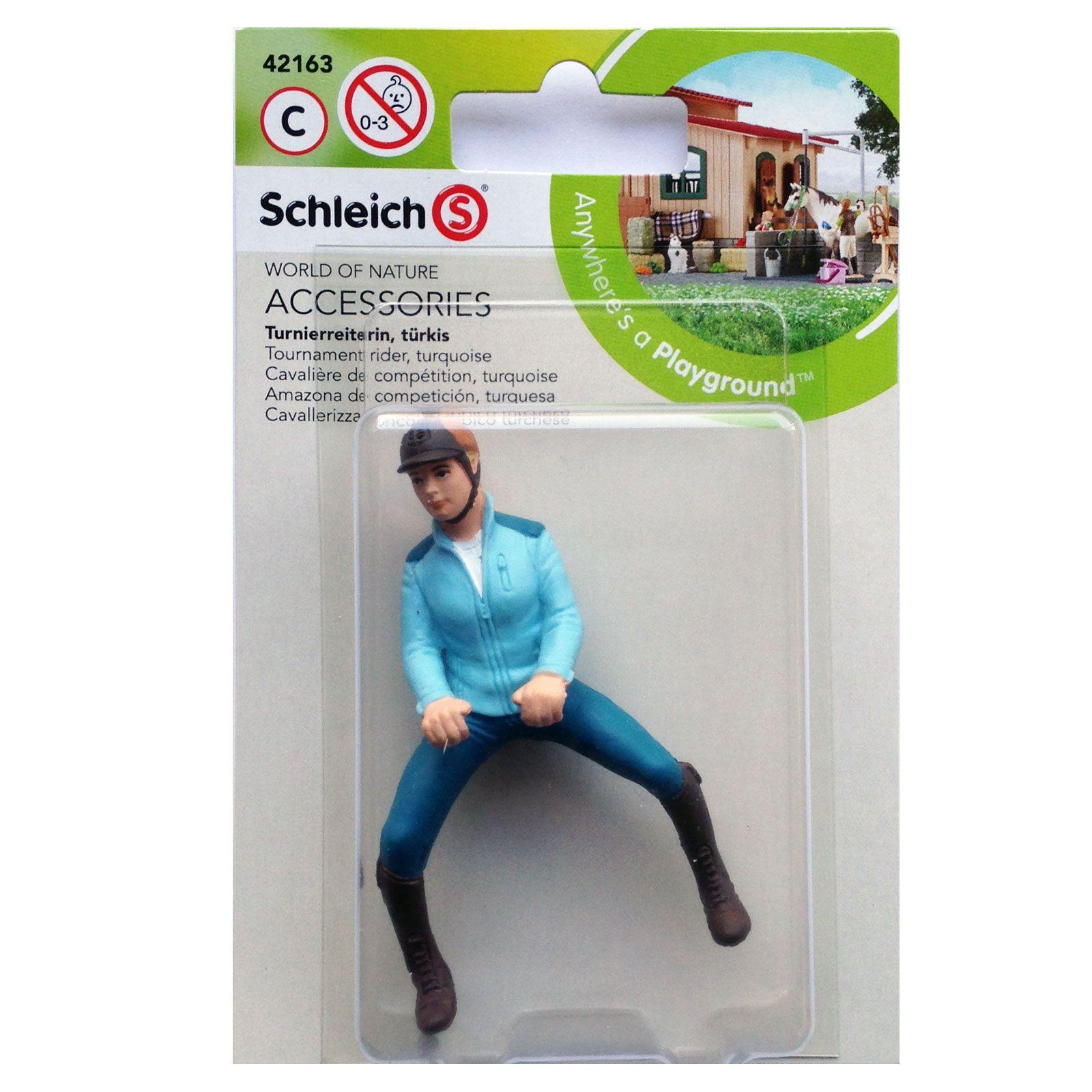 Nouveau Schleich tournoi Rider Turquoise