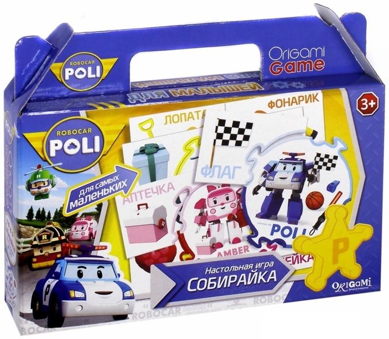 Robocar. Настольная игра. СобирайкаПазлы для малышей<br>Robocar. Настольная игра. Собирайка<br>