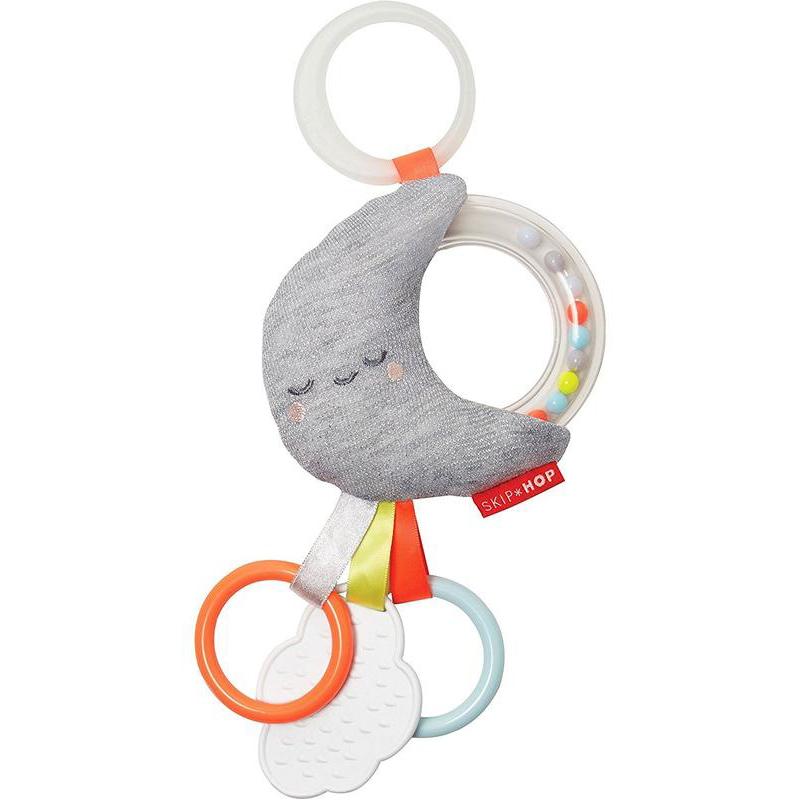 Развивающая игрушка-подвеска МесяцДетские погремушки и подвесные игрушки на кроватку<br>Развивающая игрушка-подвеска Месяц<br>