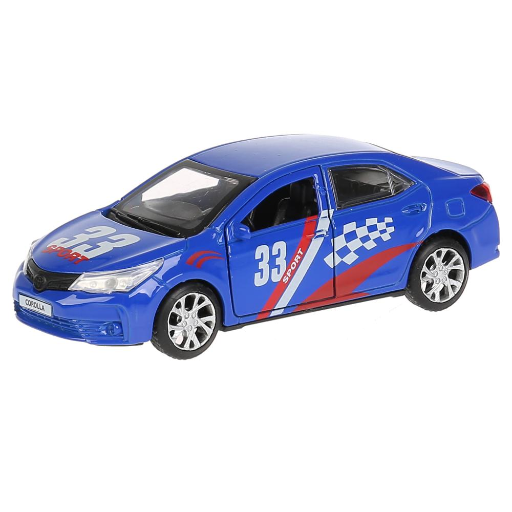 Машина металлическая Toyota Corolla Спорт, 12 см, открываются двери, инерционная Технопарк