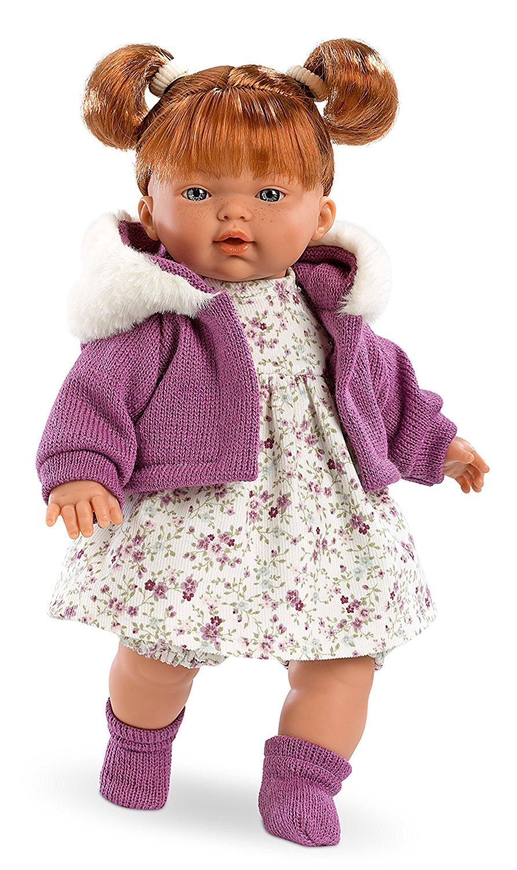 Кукла Алиса, озвученная, 33 см.Испанские куклы Llorens Juan, S.L.<br>Кукла Алиса, озвученная, 33 см.<br>