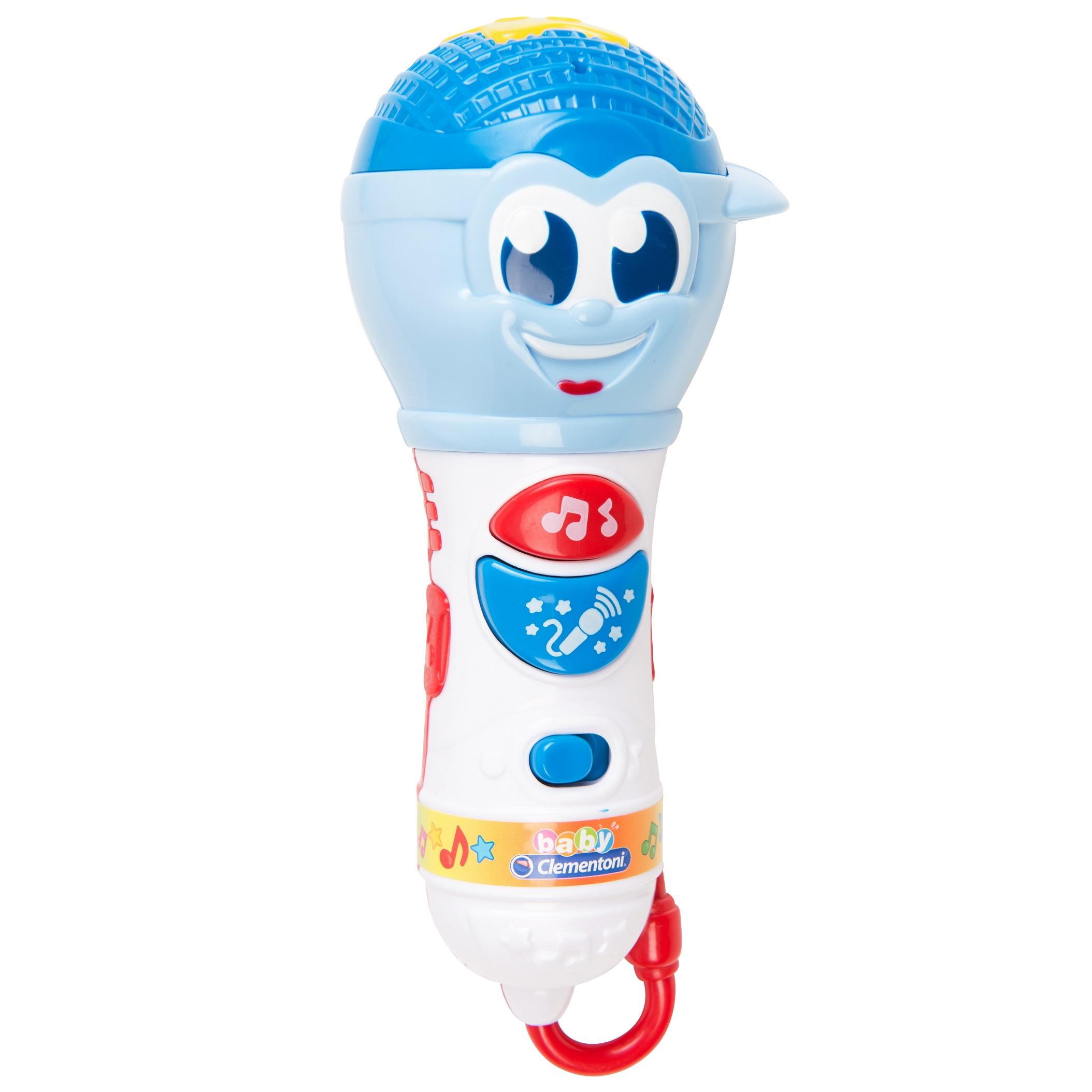 Купить Музыкальная игрушка – Микрофон, свет и звук, Clementoni