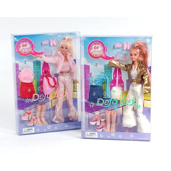 Кукла - Модница с одеждой и аксессуарами, 29 см, 2 видаКуклы Defa Lucy<br>Кукла - Модница с одеждой и аксессуарами, 29 см, 2 вида<br>