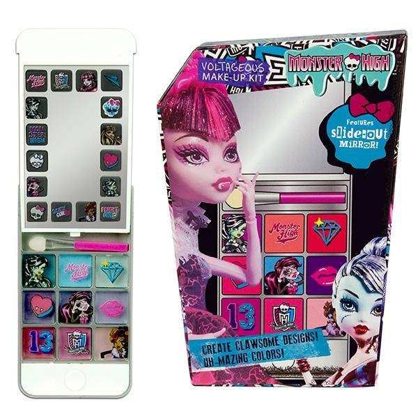 Набор детской декоративной косметики из серии Monster High в виде телефона iPhone 5Юная модница, салон красоты<br>Набор детской декоративной косметики из серии Monster High в виде телефона iPhone 5<br>