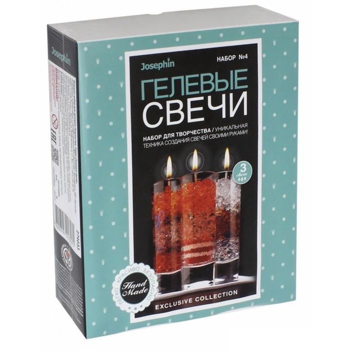 Купить Свечи гелевые Josephin - Набор №4, Фантазёр