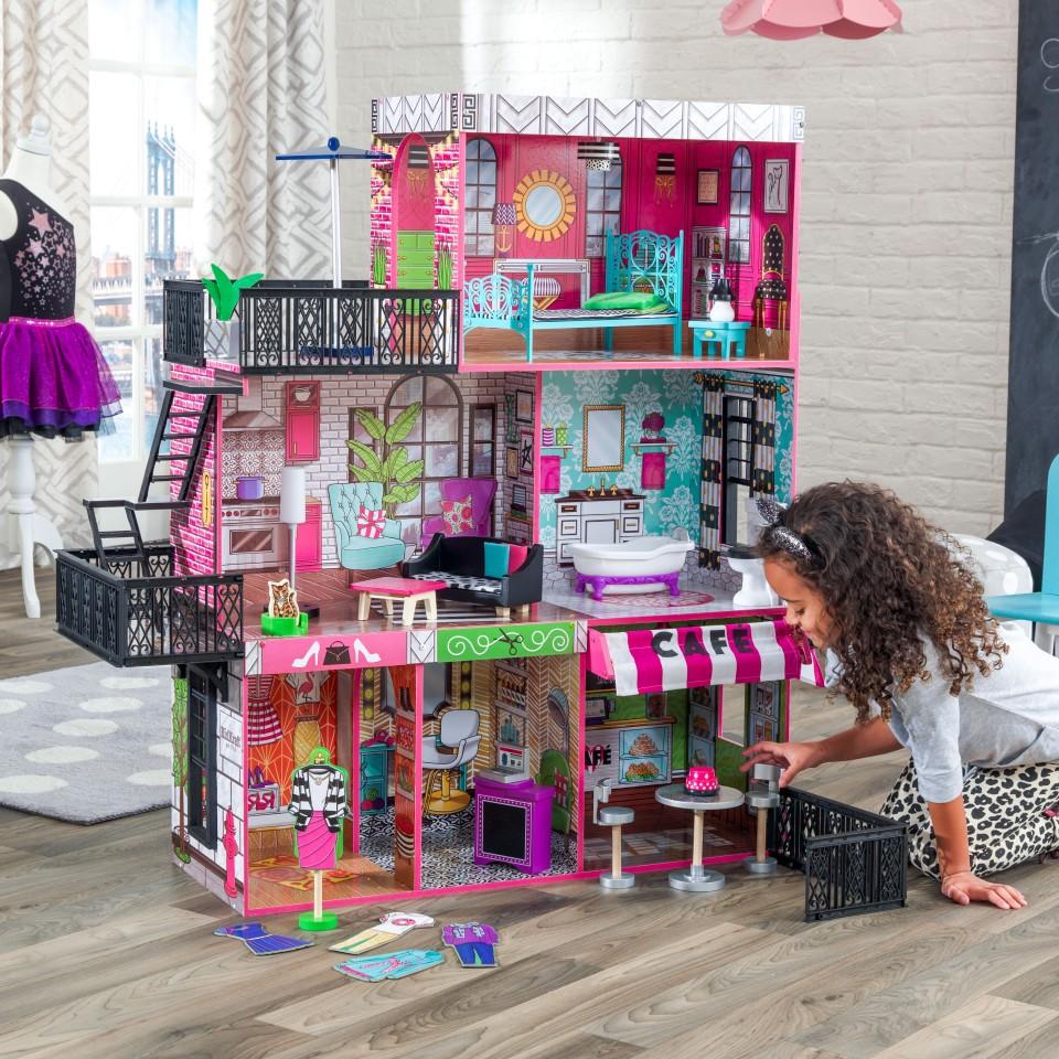 Купить Кукольный дом Бруклинский Лофт, KidKraft