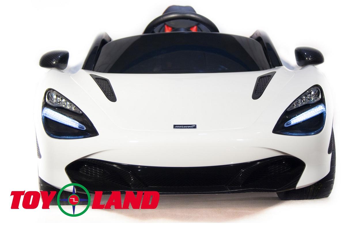 ToyLand Электромобиль Mclaren DKM720S белого цвета