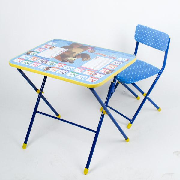 Набор детской мебели - Английская азбука из серии Маша и МедведьПарты<br>Набор детской мебели - Английская азбука из серии Маша и Медведь<br>