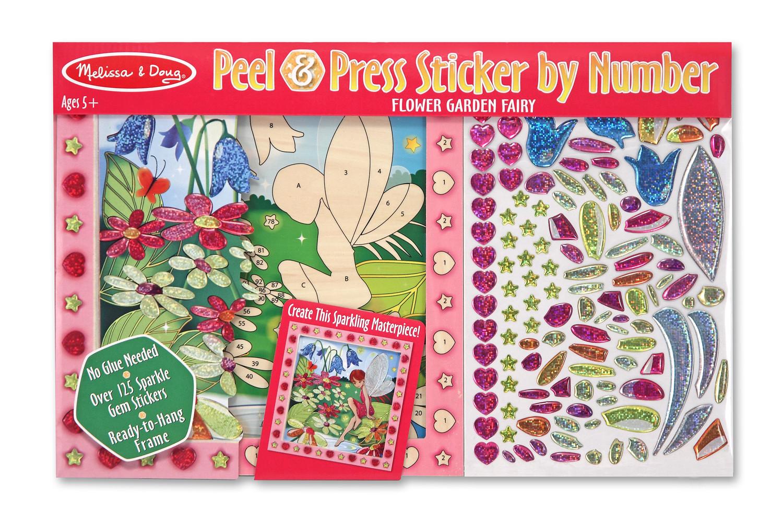 Красочная мозаика  Цветочный сад  - Аппликация, пайетки, артикул: 138282