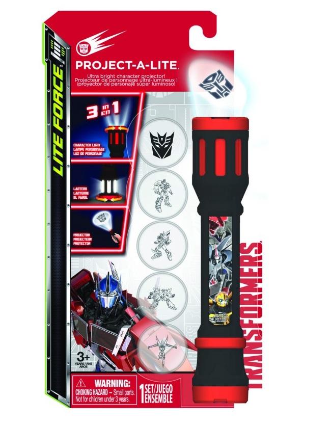 Фонарик-проектор 3 в 1 «Transformers»Игрушки трансформеры<br>Фонарик-проектор 3 в 1 «Transformers»<br>