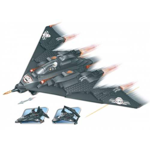 Конструктор  Три самолёта в одном - Самолеты, службы спасения, артикул: 98318