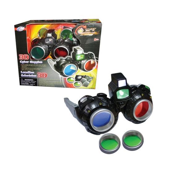 Шпионские очки с режимом 3D, режим ночного видения, светодиодная подсветка - Шпионские игрушки. Наборы секретного агента, артикул: 22659