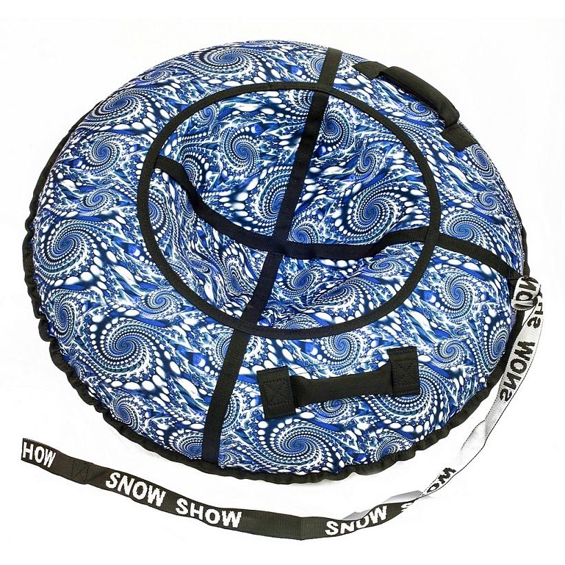 Санки надувные тюбинг дизайн - Жемчужины, диаметр 105 см.Ватрушки и ледянки<br>Санки надувные тюбинг дизайн - Жемчужины, диаметр 105 см.<br>