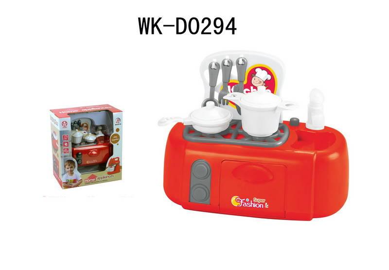 Плита со световыми эффектами в наборе с аксессуарамиАксессуары и техника для детской кухни<br>Плита со световыми эффектами в наборе с аксессуарами<br>