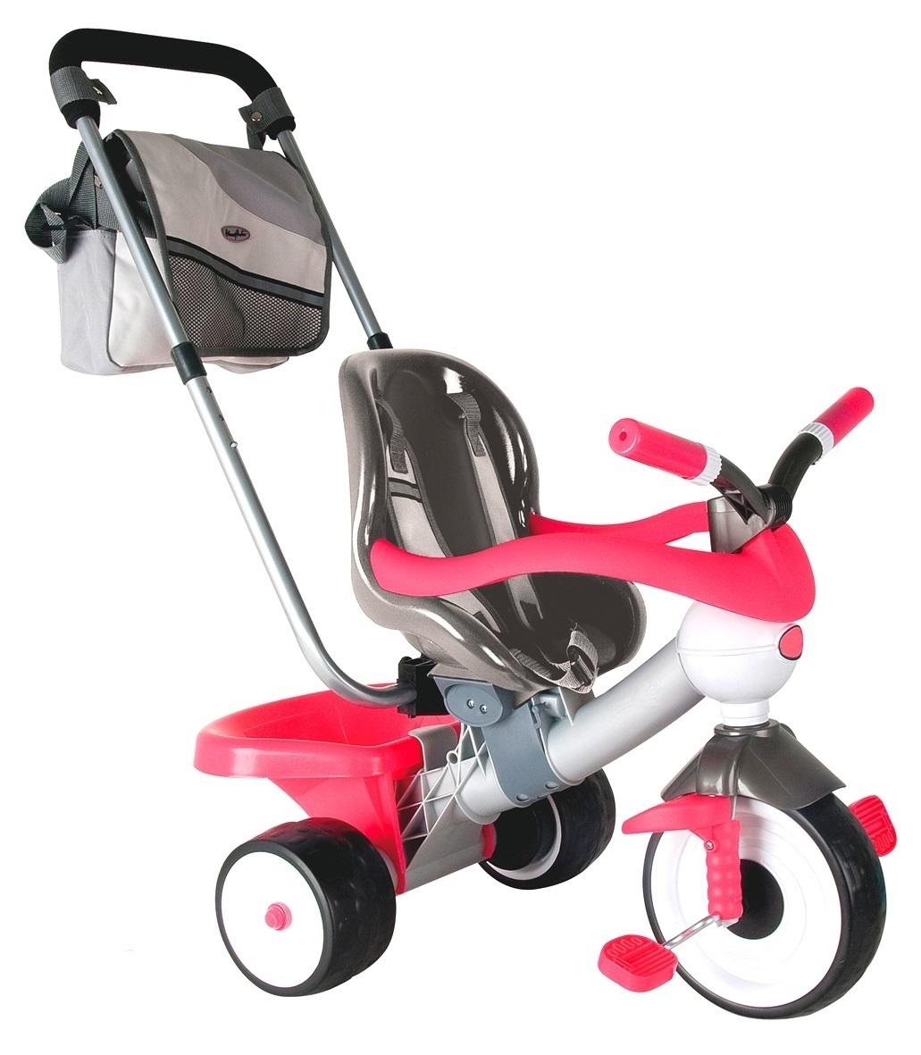 Детский трехколесный велосипед Coloma Comfort Angel Pink Aluminium, 3464RTВелосипеды детские<br>Детский трехколесный велосипед Coloma Comfort Angel Pink Aluminium, 3464RT<br>