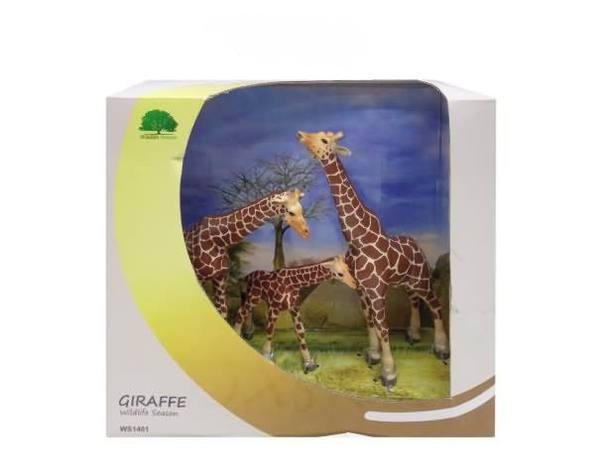 Набор фигурок «Семейство жирафов»Дикая природа (Wildlife)<br>Набор фигурок «Семейство жирафов»<br>