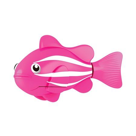 Розовая РобоРыбка Клоун - Игрушки для ванной, артикул: 23521