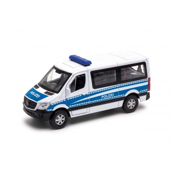 Купить Модель машины – Mercedes-Benz Sprinter Полиция, 1:50, Welly