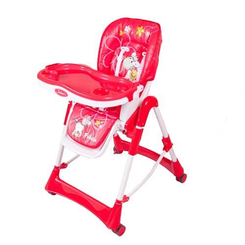 Стульчик для кормления - Piero Fabula Horse, красныйСтульчики для кормления<br>Стульчик для кормления - Piero Fabula Horse, красный<br>
