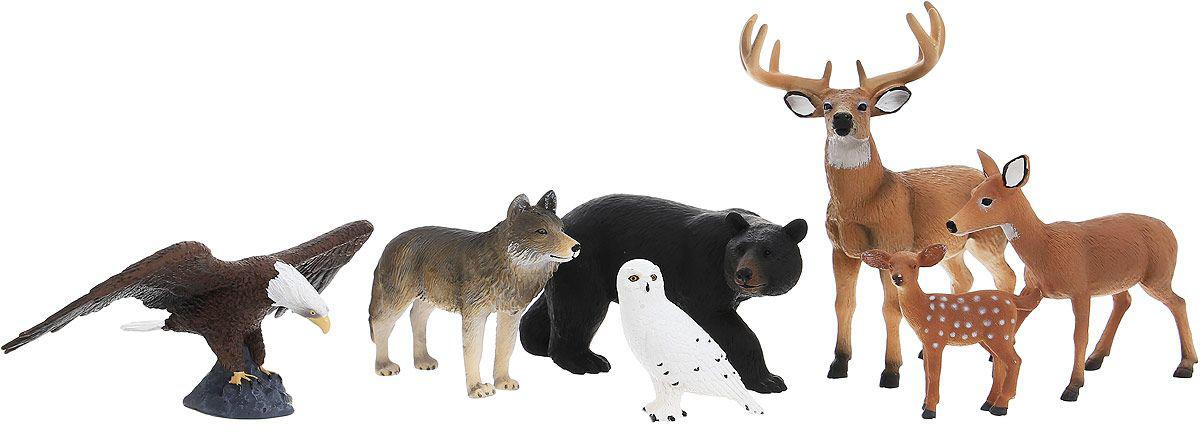 Набор Animal Planet – Лес, 7 штЛесная жизнь (Woodland)<br>Набор Animal Planet – Лес, 7 шт<br>