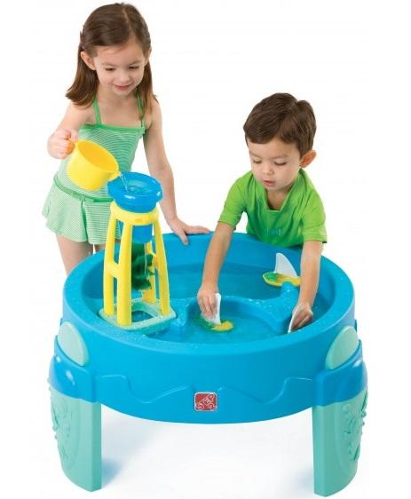 Step 2 Столик с водяной мельницей - ОазисДетские песочницы<br>Step 2 Столик с водяной мельницей - Оазис<br>