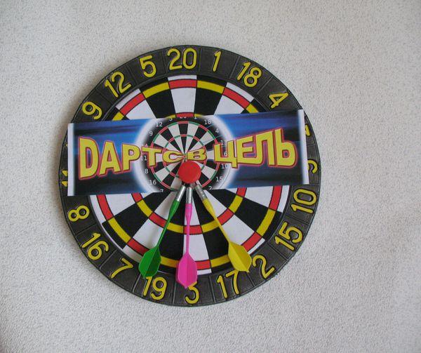 Дартс в цель, диаметр 35 смАрбалеты и Дартс<br>Дартс в цель, диаметр 35 см<br>