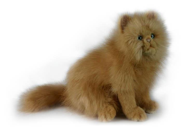 Купить Мягкая игрушка – Кошка рыжая, 27 см, Hansa