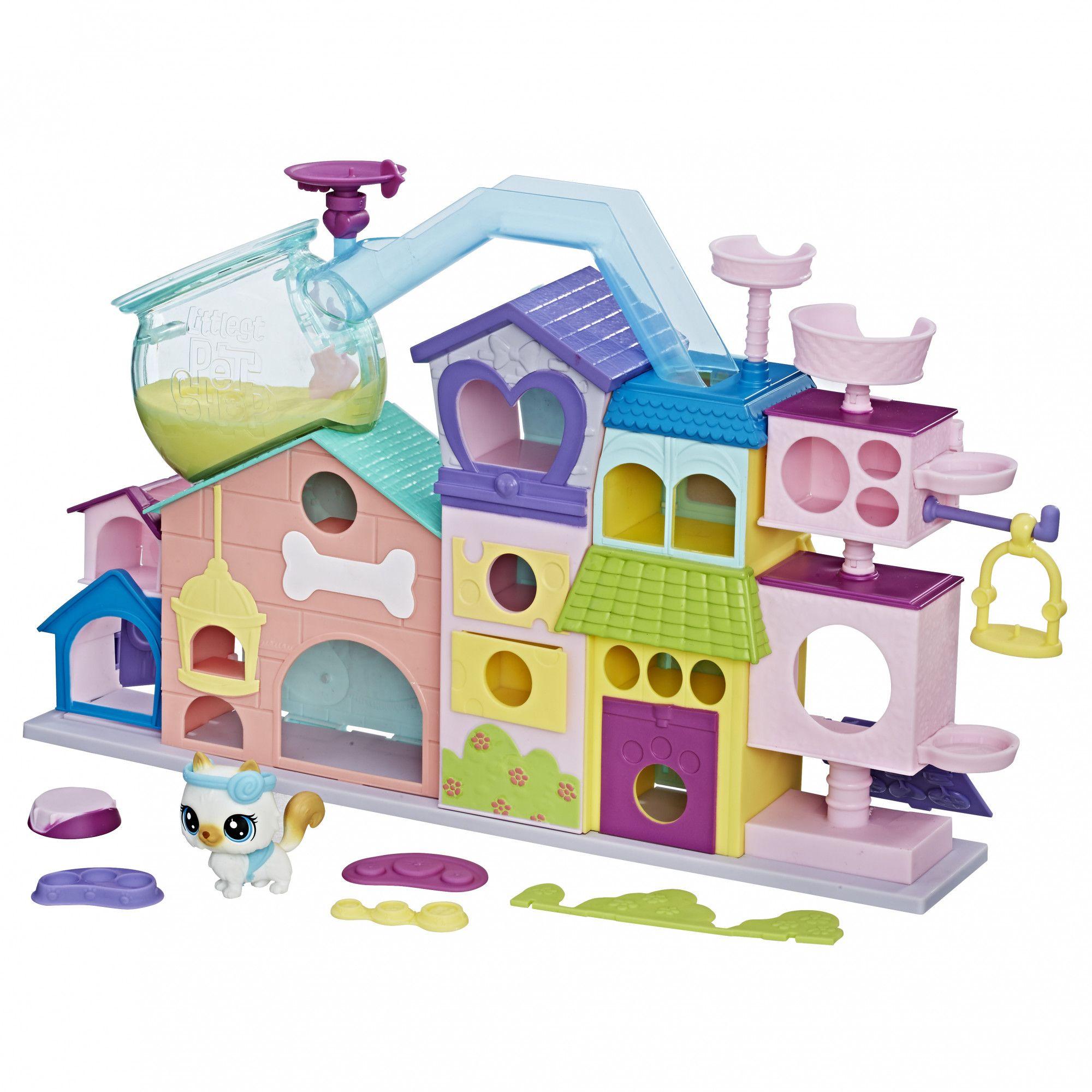 Купить Игровой набор Littlest Pet Shop - Апартаменты для петов, Hasbro