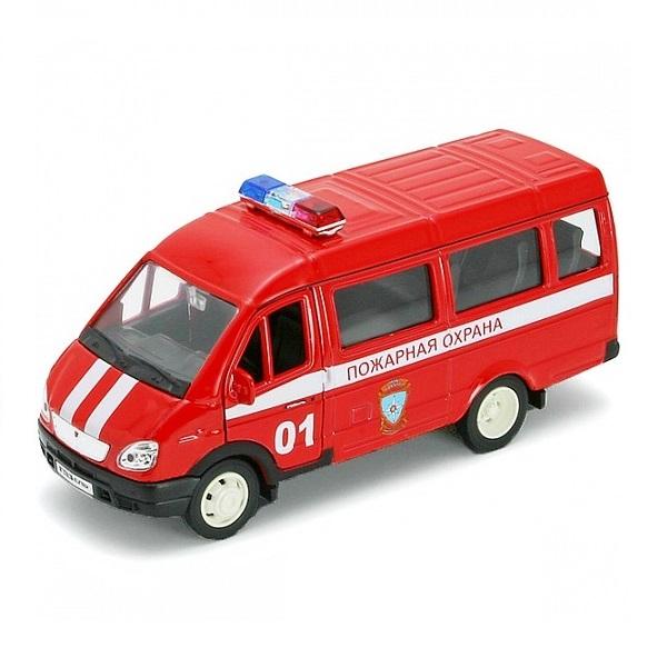 Купить со скидкой Игрушечная модель машины Пожарная охрана – ГАЗель, 1:34-39