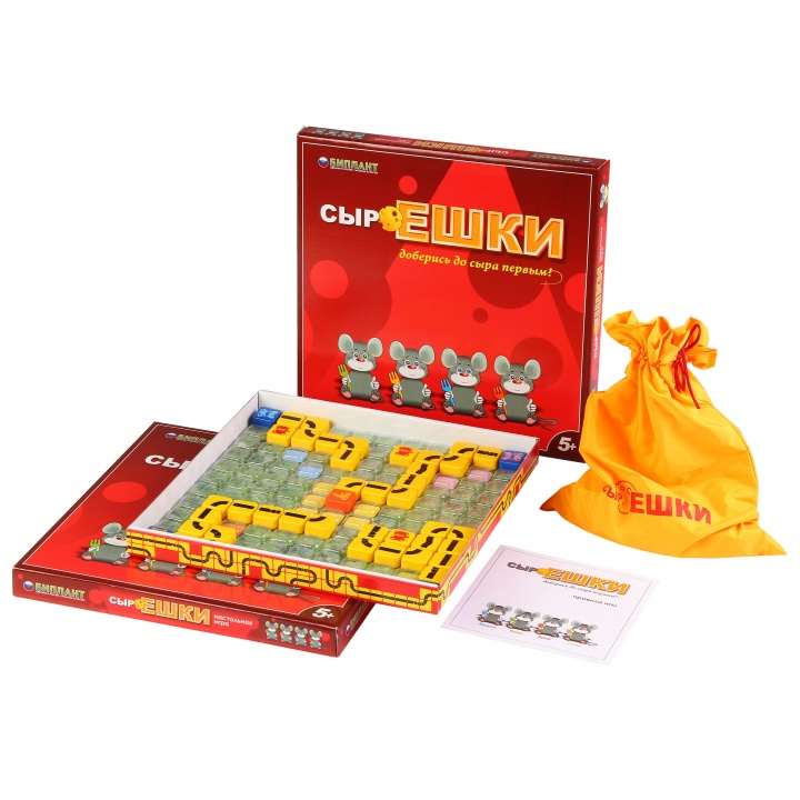 Игра настольная – Сыроешка - Игры для компаний, артикул: 157519