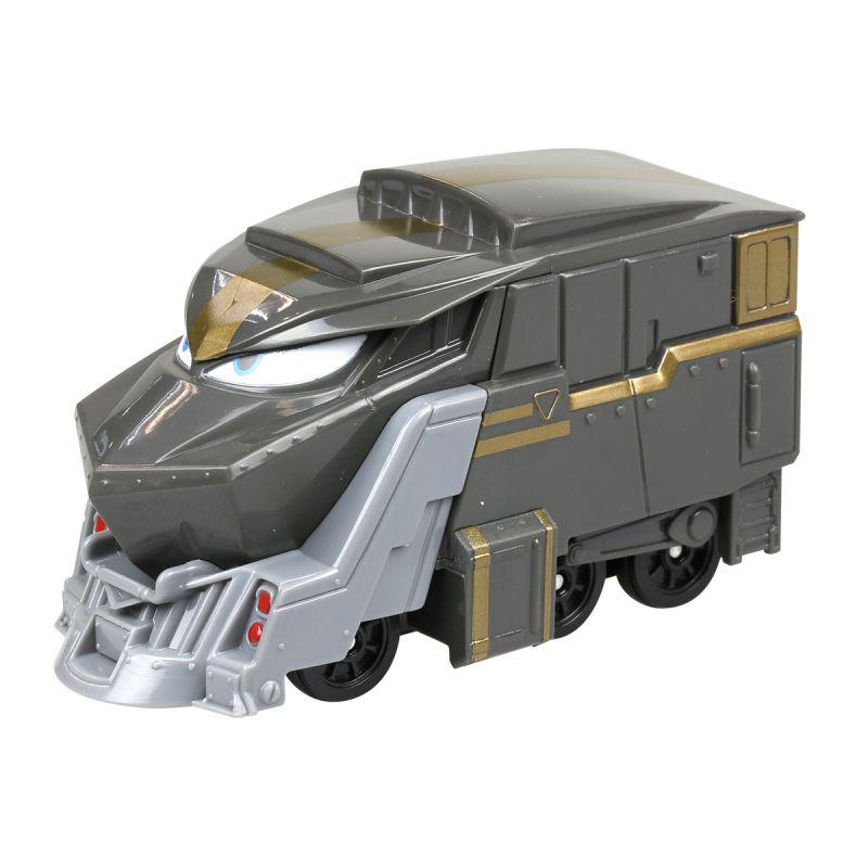 Игрушечный паровозик Роботы-поезда - ДюкЖелезная дорога для малышей<br>Игрушечный паровозик Роботы-поезда - Дюк<br>