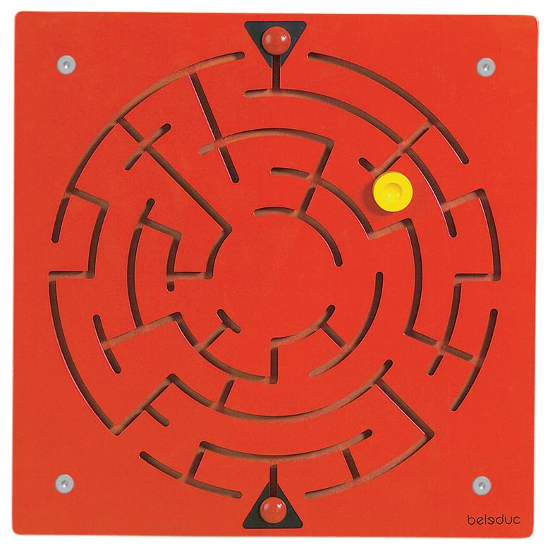 Настенный игровой элемент  Лабиринт - Деревянные игрушки, артикул: 164667
