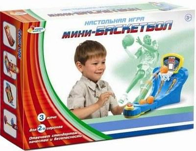 Детская настольная игра «Мини-баскетбол»Баскетбол, бадминтон, теннис<br>Детская настольная игра «Мини-баскетбол»<br>