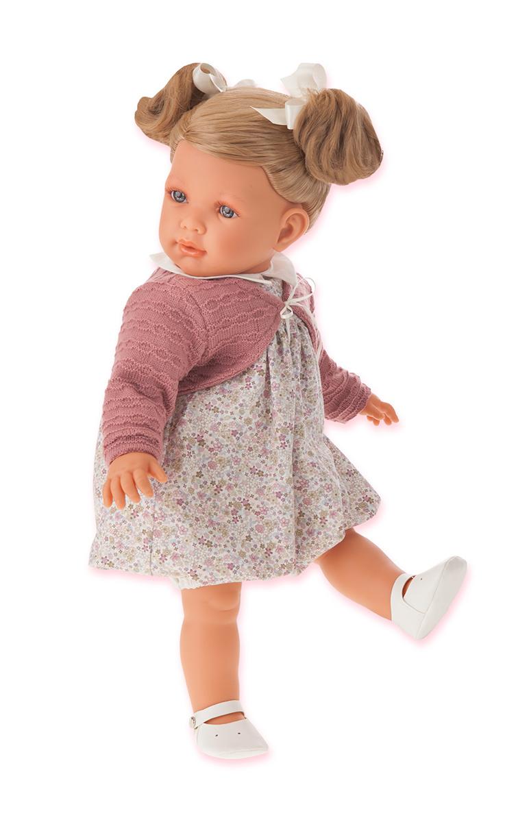 Кукла Аделина блондинка, 55 смКуклы Антонио Хуан (Antonio Juan Munecas)<br>Кукла Аделина блондинка, 55 см<br>