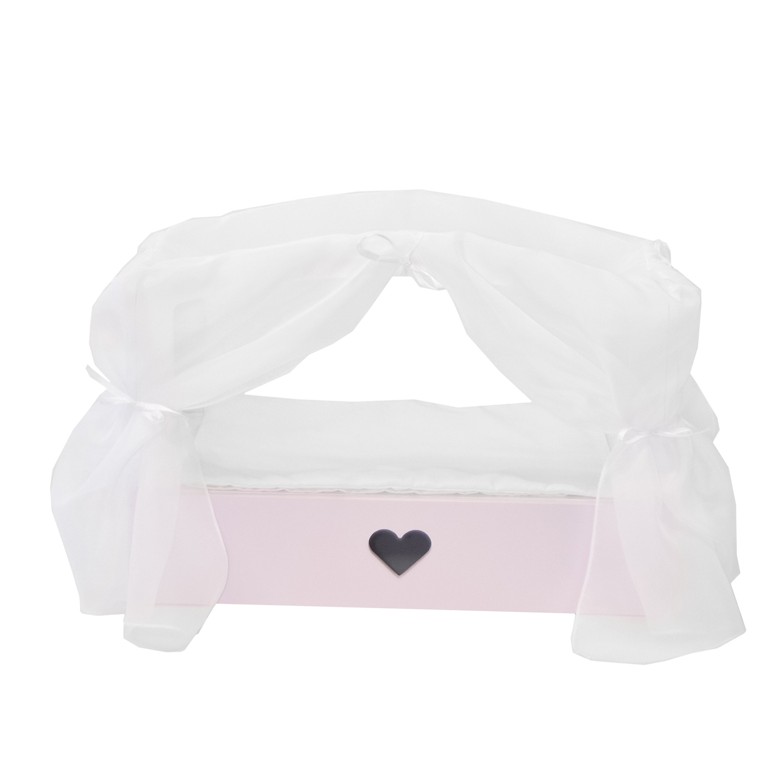 Купить Кроватка с бельевым ящиком Серии Любимая кукла Мини, цвет Элис/Мия, Paremo