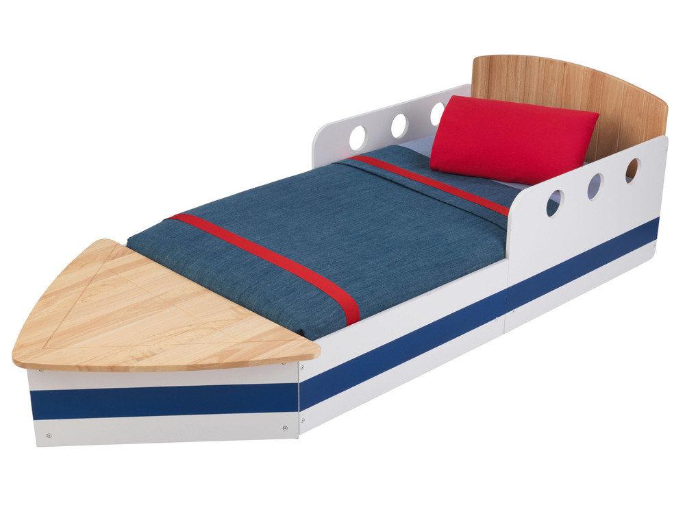 Детская кровать – Яхта, с ящиком для бельяДетские кровати и мягкая мебель<br>Детская кровать – Яхта, с ящиком для белья<br>