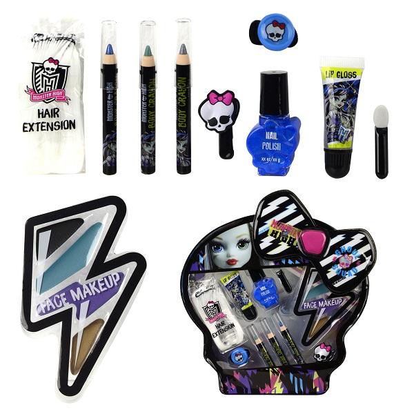 Игровой набор детской декоративной косметики из серии Frankie Monster HighЮная модница, салон красоты<br>Игровой набор детской декоративной косметики из серии Frankie Monster High<br>
