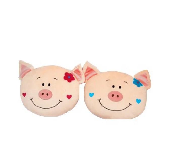 Купить Мягкая игрушка - Подушка Свинка, 38 см, Играем вместе