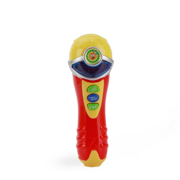 Купить Микрофон со светом и звуком, песнями на стихи А. Барто, Умка