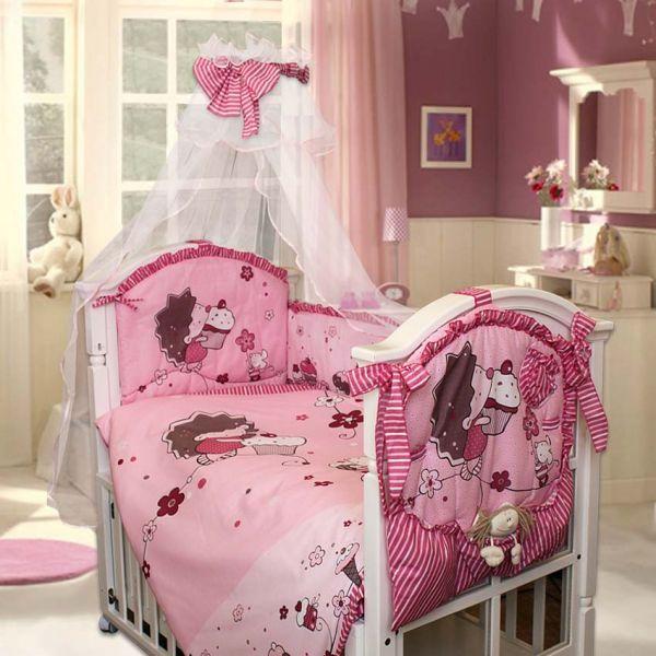 Комплект - Ёжик Топа-Топ, розовыйДетское постельное белье<br>Комплект - Ёжик Топа-Топ, розовый<br>