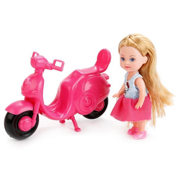Кукла Hello Kitty - Машенька 12 см, на скутереКуклы Карапуз<br>Кукла Hello Kitty - Машенька 12 см, на скутере<br>