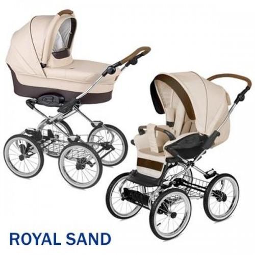Коляска 2 в 1 - Navington Caravel, колеса 14, royal sandДетские коляски 2 в 1<br>Коляска 2 в 1 - Navington Caravel, колеса 14, royal sand<br>