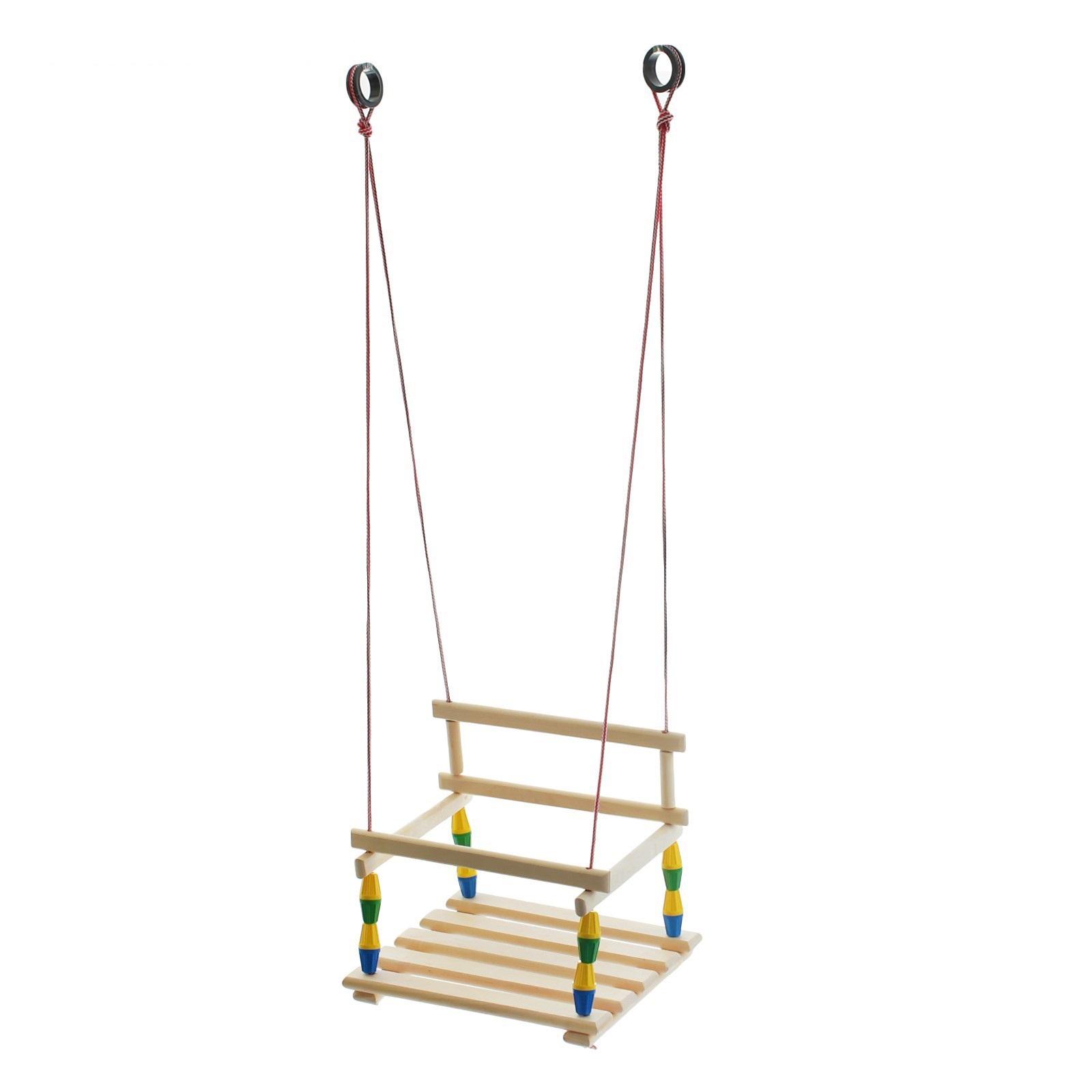 Купить Качели деревянные подвесные Классические, RT