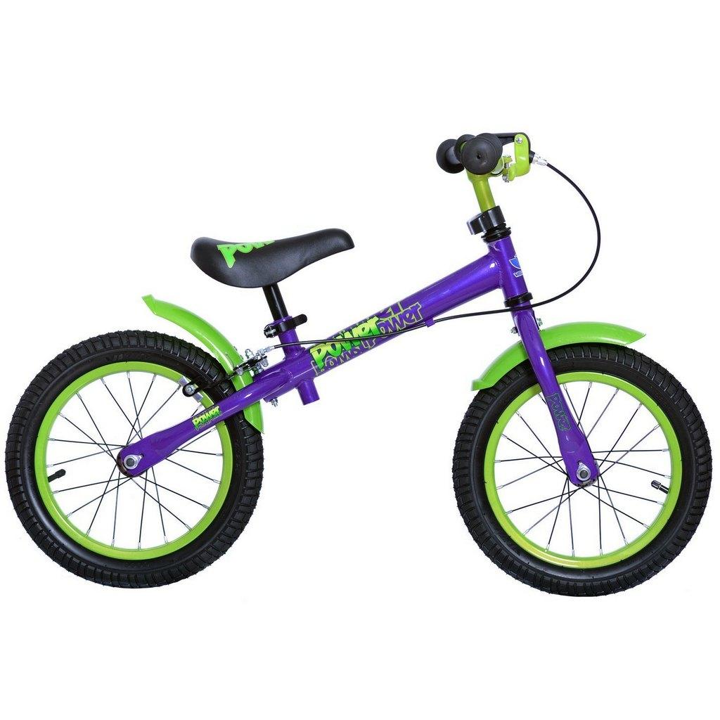Беговел Velolider Power, фиолетовый, диаметр колес 35,6